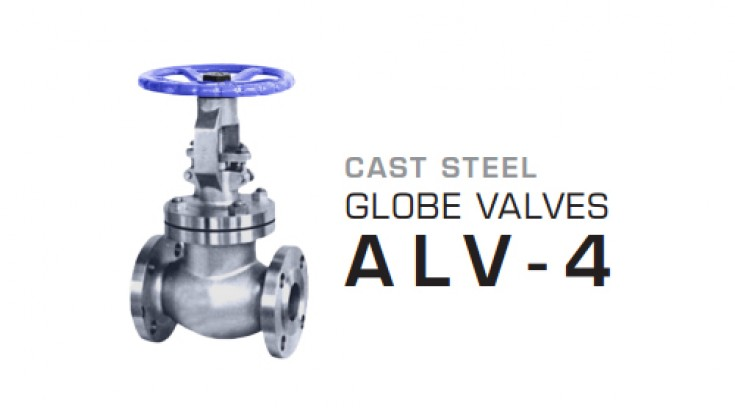Cast Steel Globe Valves ALV-4