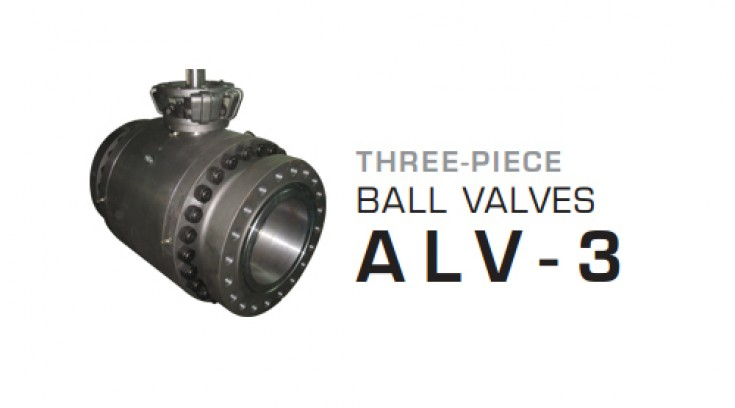Three – Piece Ball Valves ALV-3