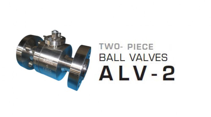 Two – Piece Ball valves ALV-2